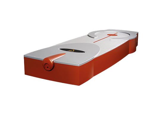 Image laser femtoseconde Tangerine